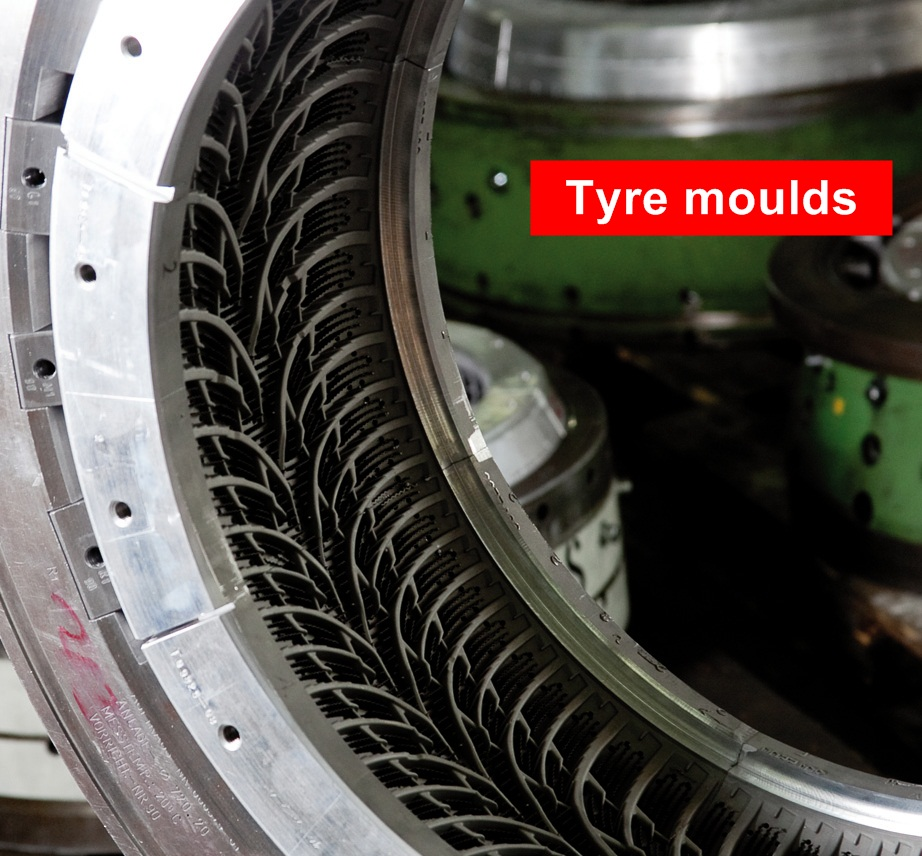 Tyre moulds 1